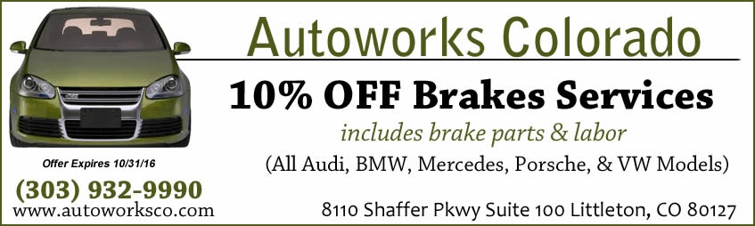 German Auto Brake Services Coupon