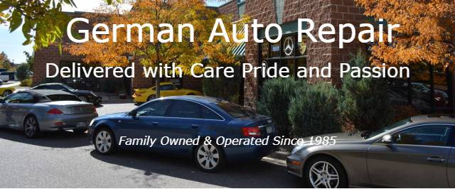 Autoworks-Colorado-German-Import-Car-Repair-Littleton-CO-front-of-shop-with-cars-mobile